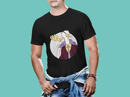 Men T-shirt Mockups