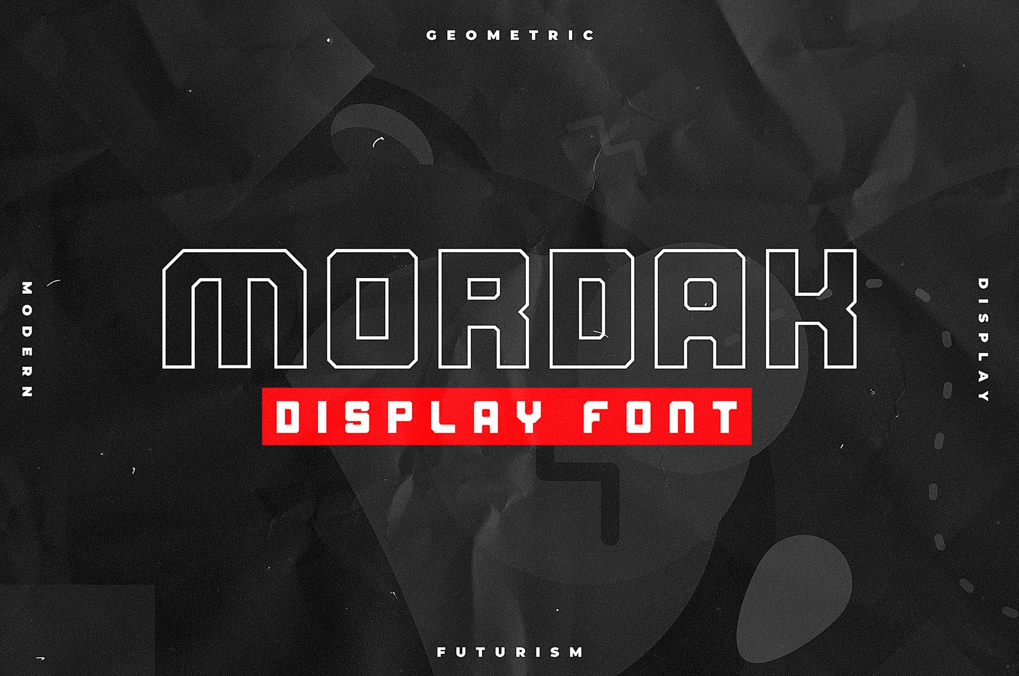 Mordak Display Font