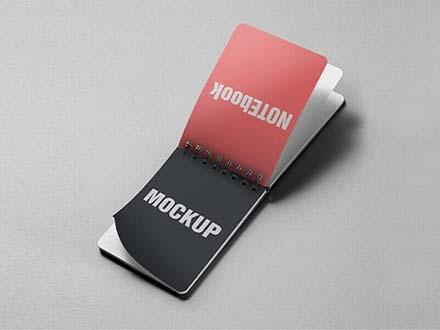 Notes Book Mockup