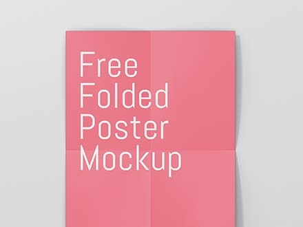 Poster Paper Mockup