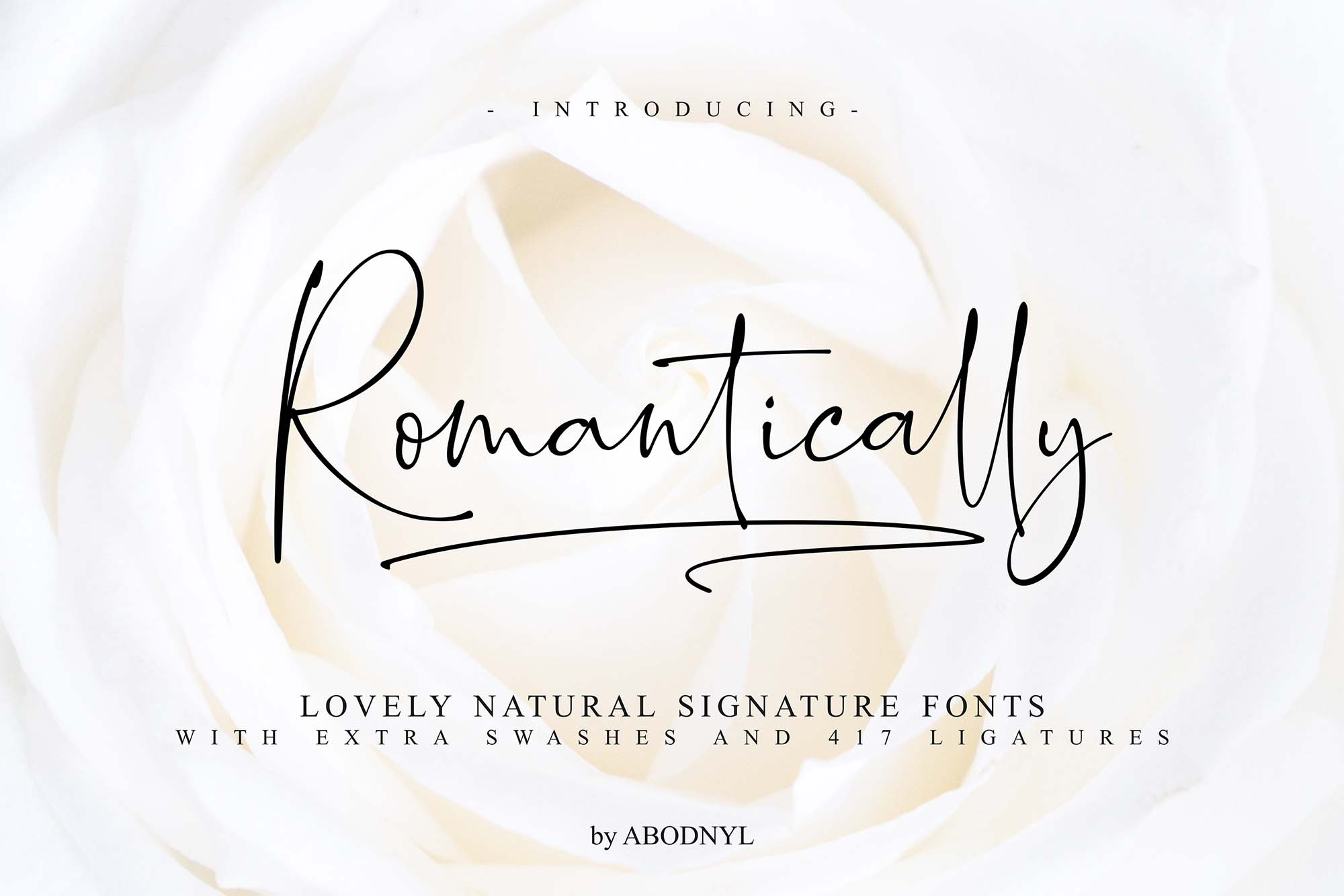 Romantically Font