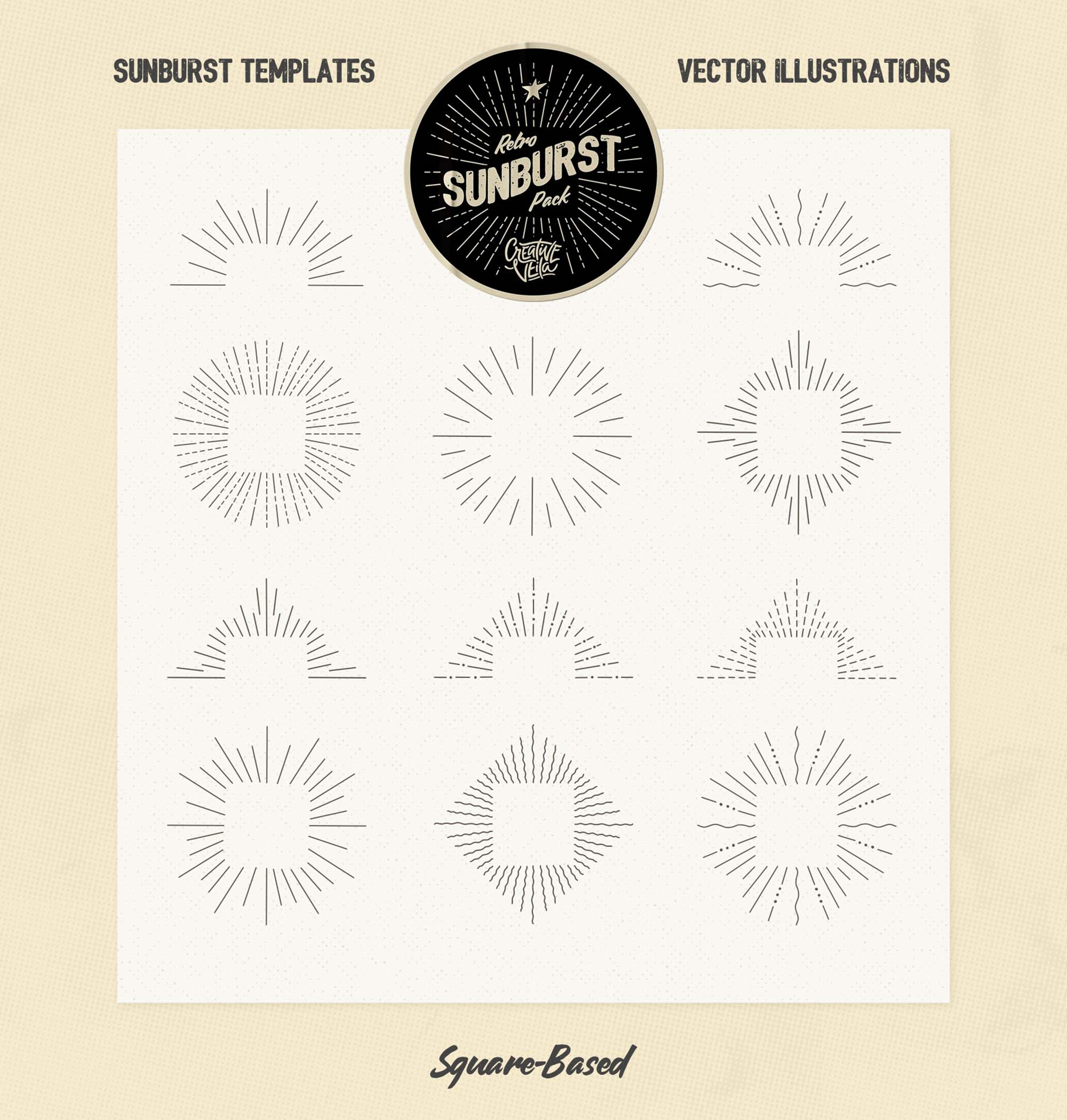 Sunburst Vectors