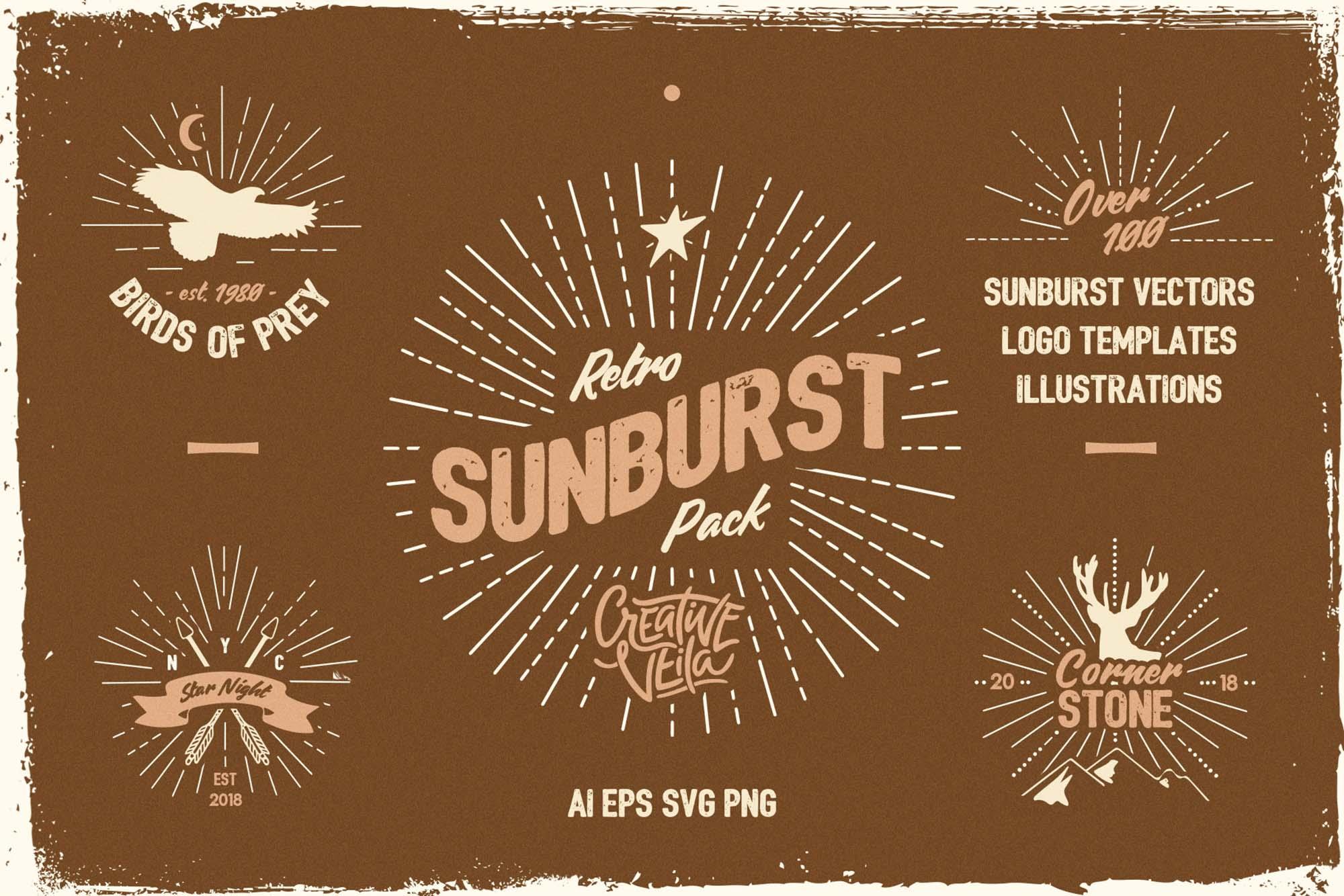 Sunburst Vectors