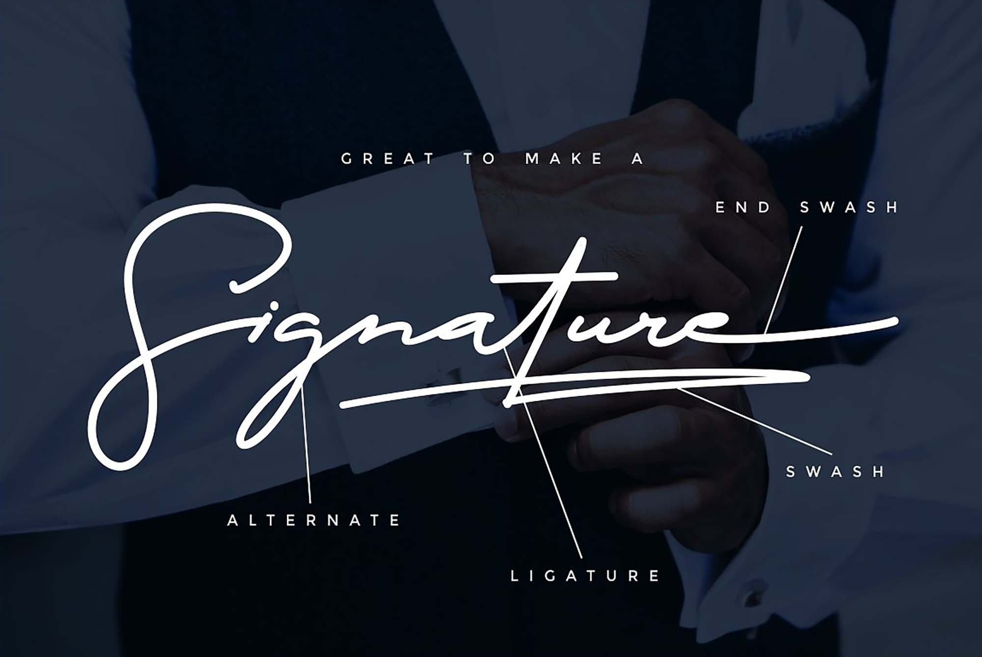 The Doctor Signature Font