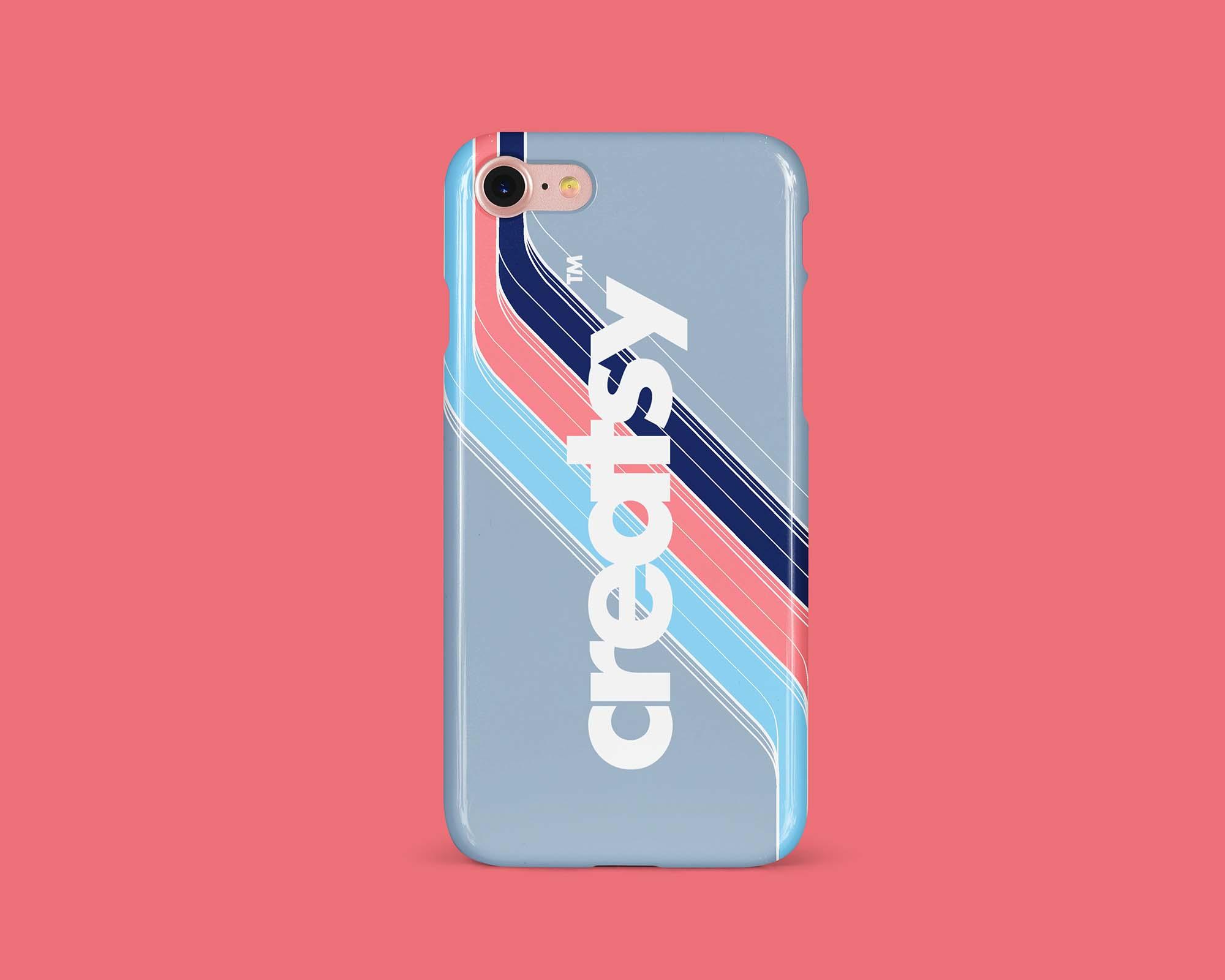 iPhone Glossy Case Mockup