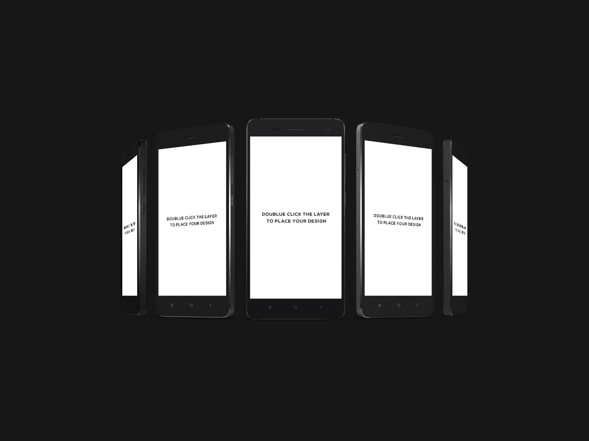 Android Smartphone Mockup 2