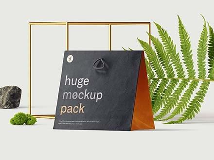 Bag Mockup Scene