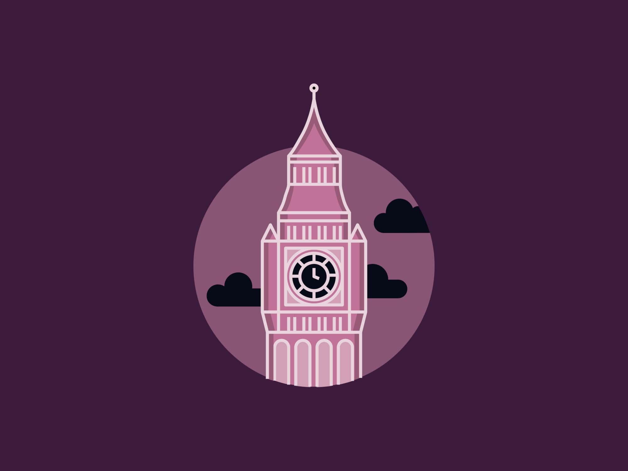 Big Ben Elizabeth Tower Illustration 1