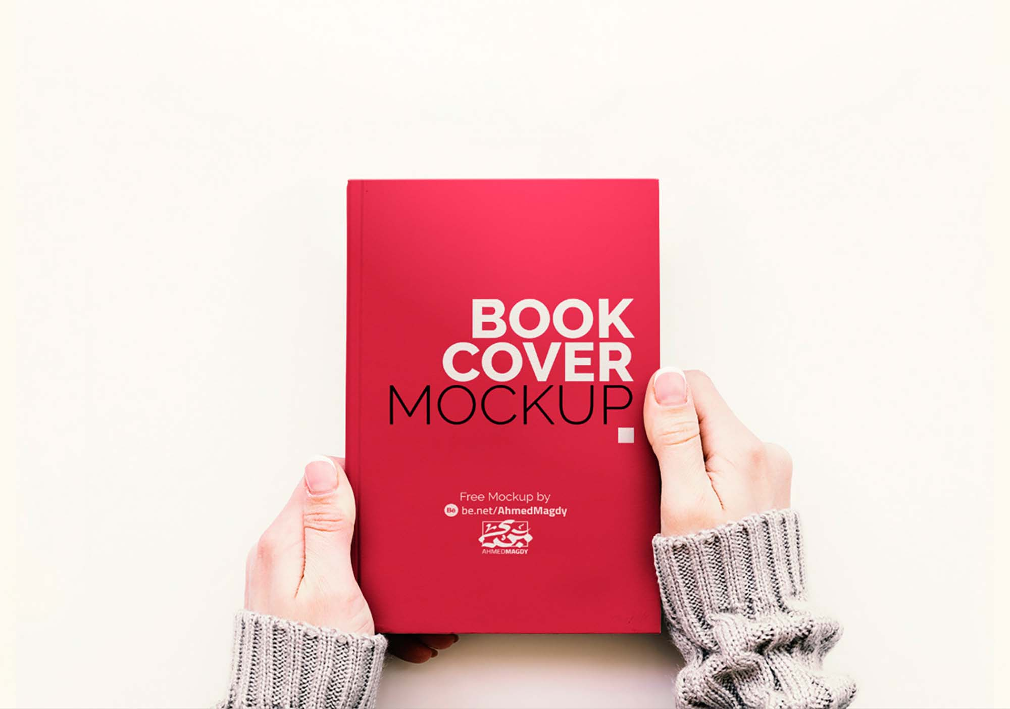 2 Free Book Cover Mockups Psd