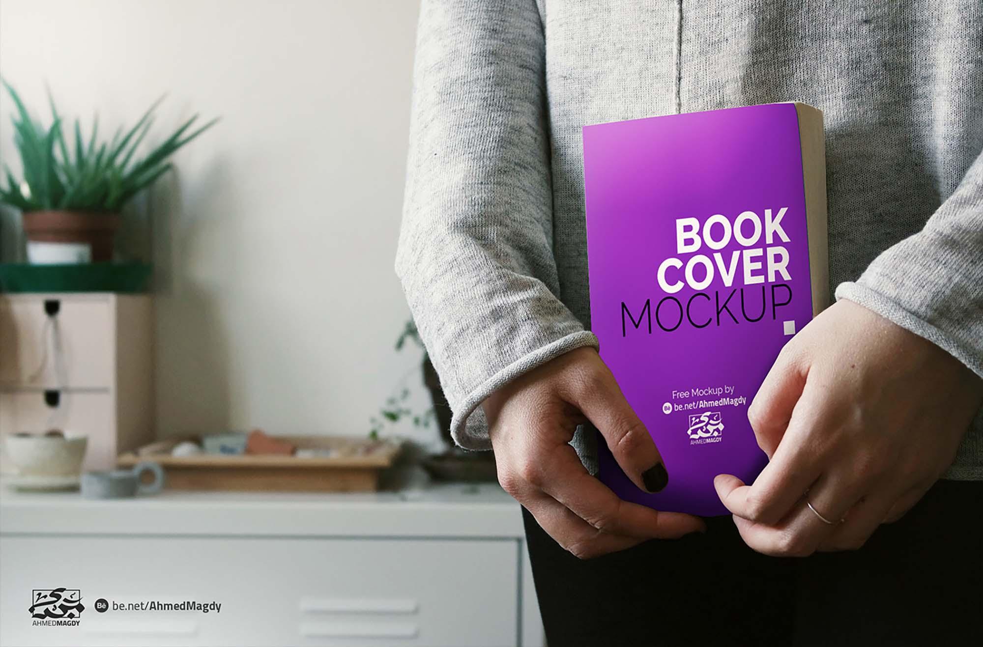 Book Cover Mockup 1
