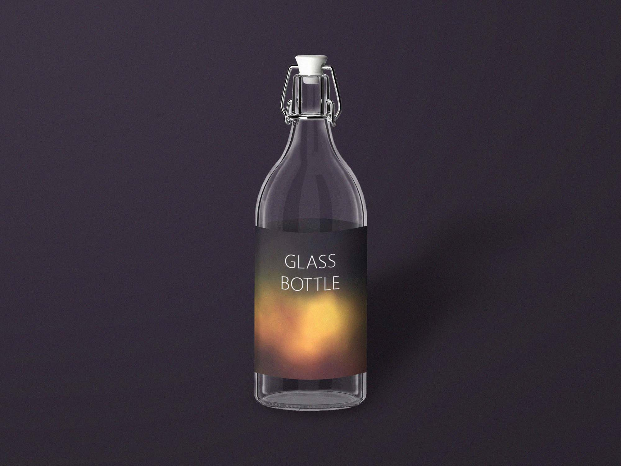 Bottle Mockup