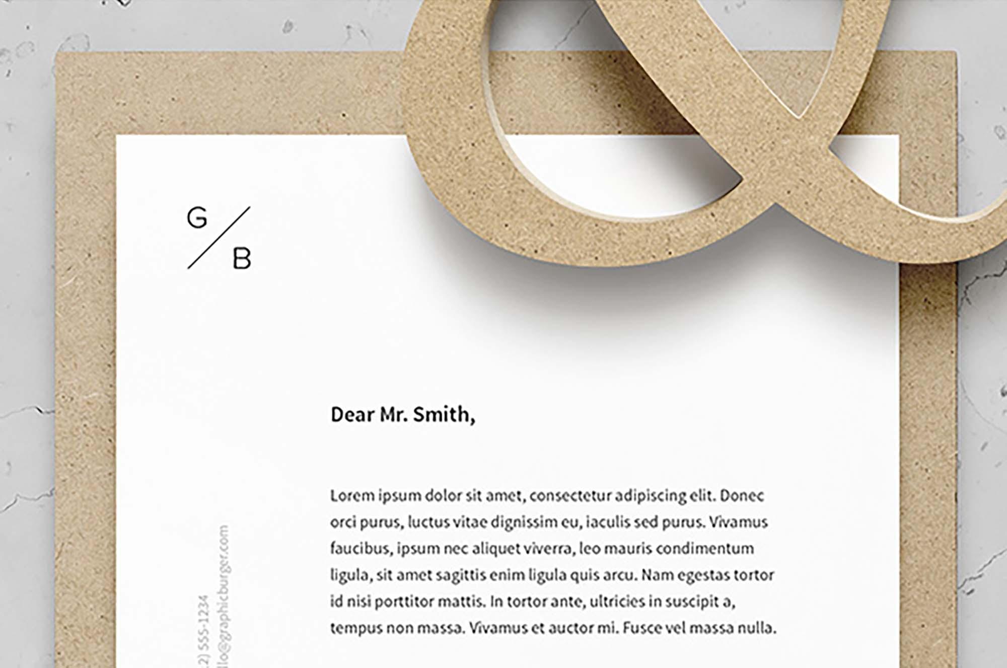 Branding and Identity Mockup 3