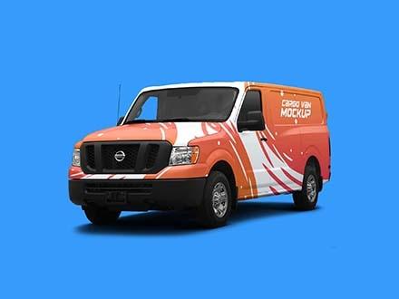Cargo Van Mockup