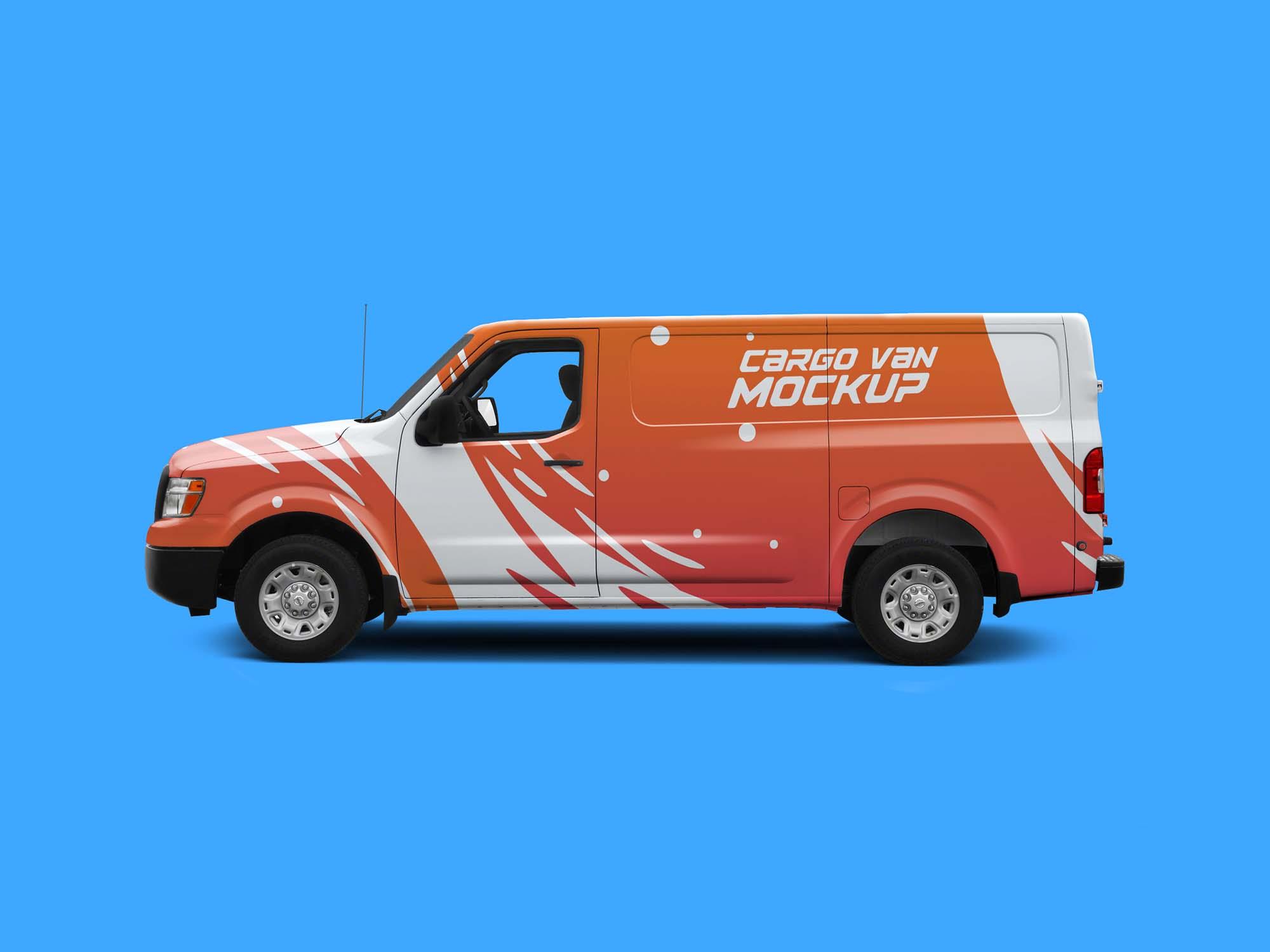 Cargo Van Mockup 1