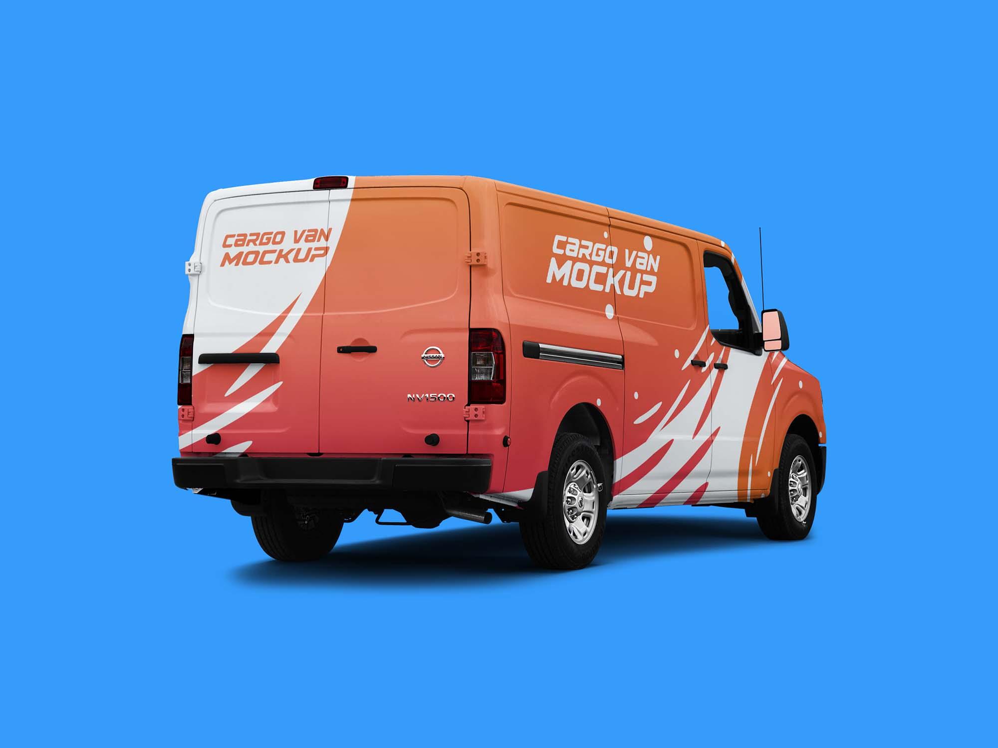Cargo Van Mockup 3