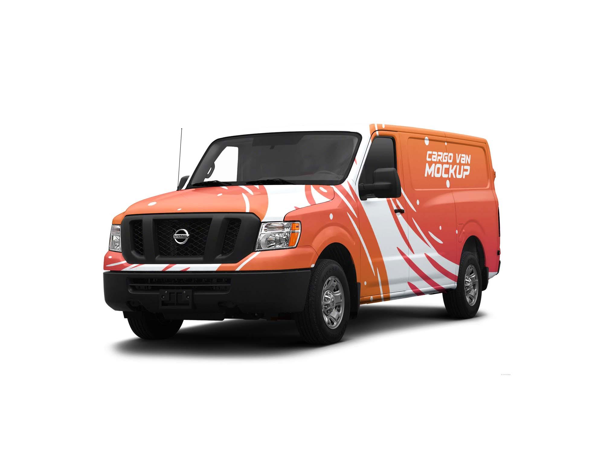 Cargo Van Mockup 2