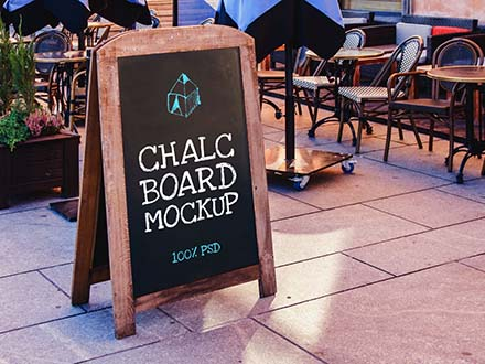 Chalkboard Mockup