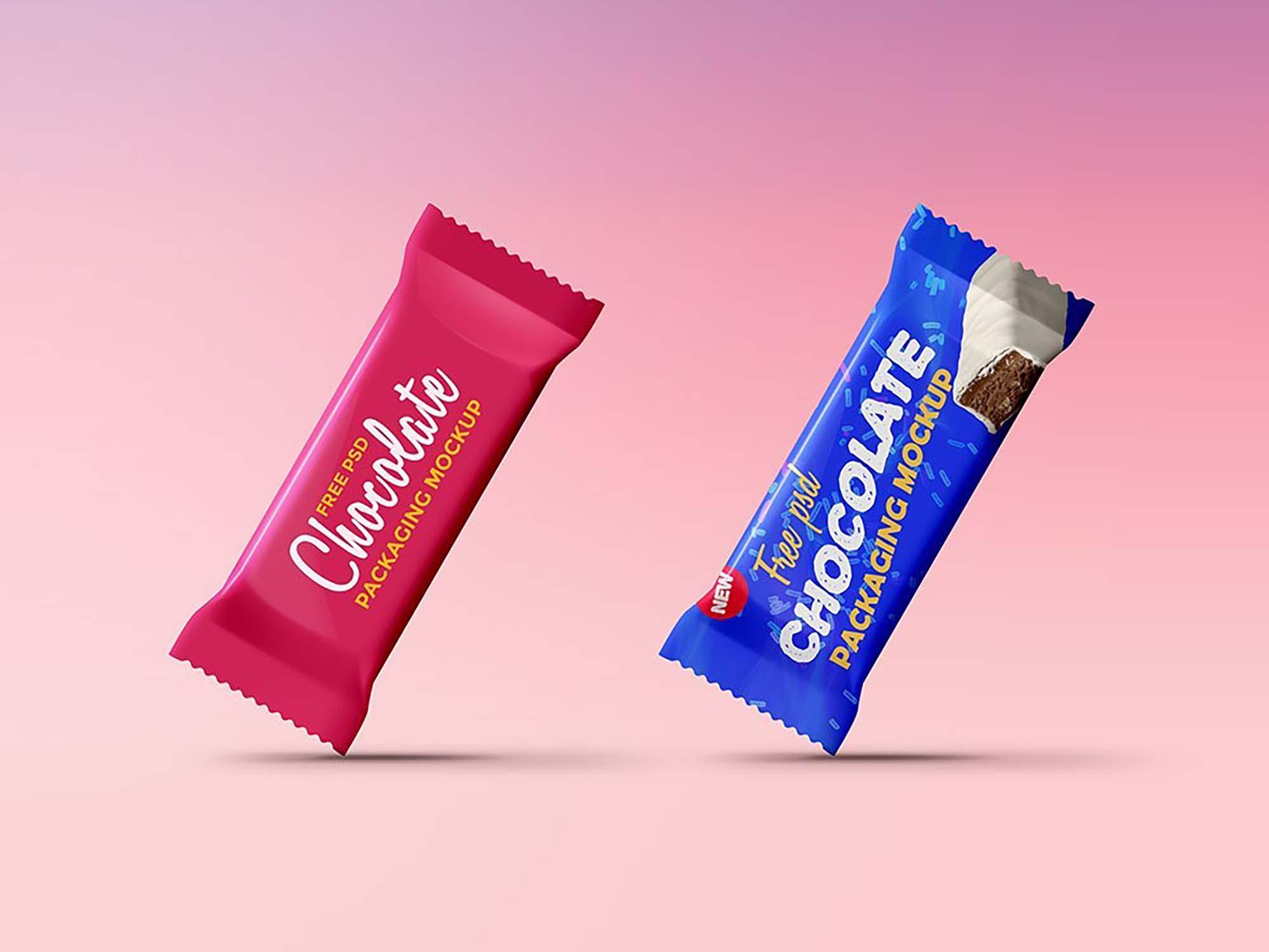 Chocolate Packaging Mockup 1