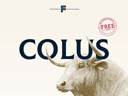 Colus Font