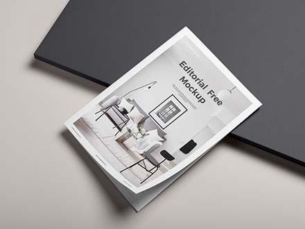 Editorial Magazine Mockup