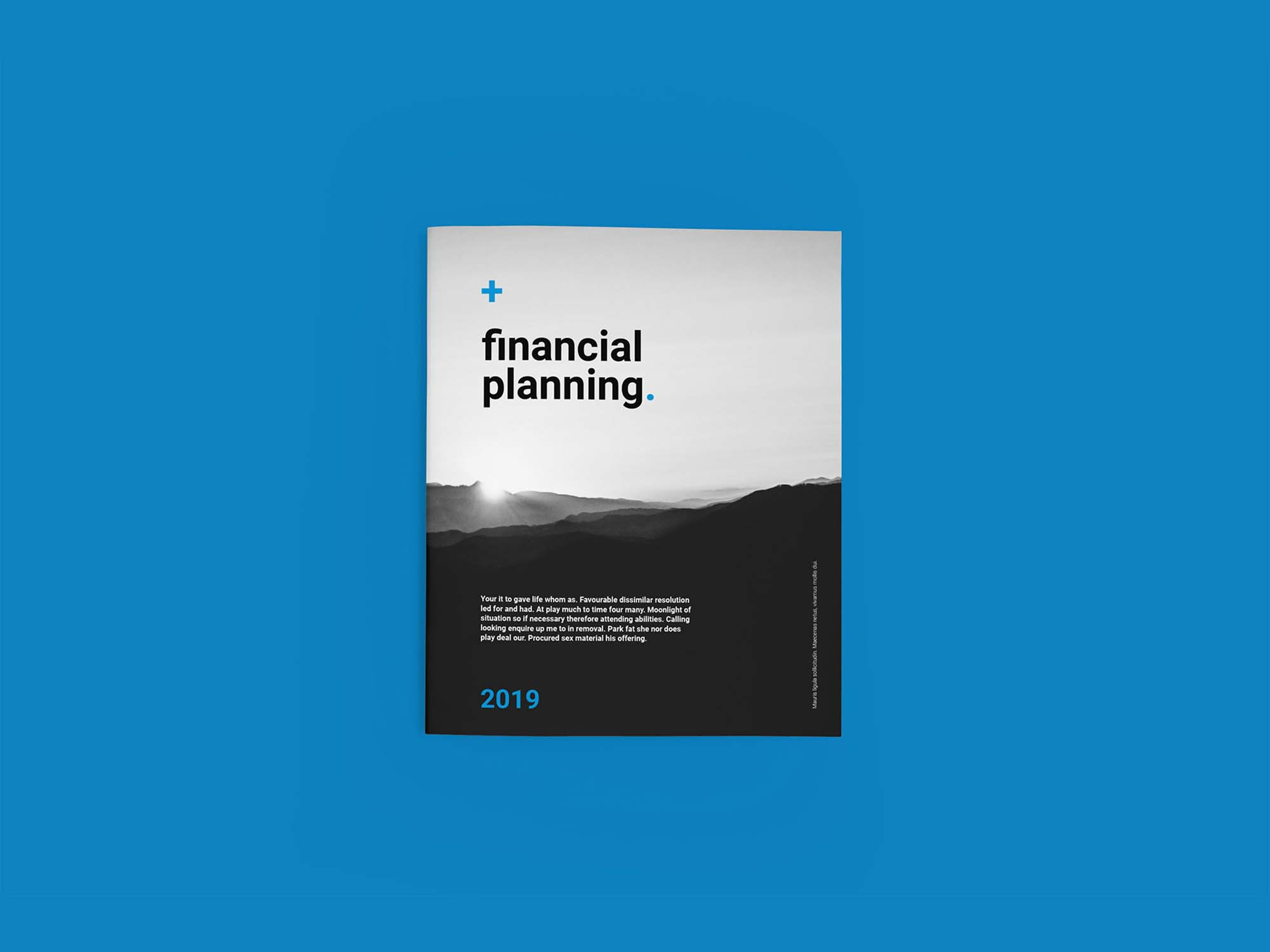 Financial Planing Brochure Template