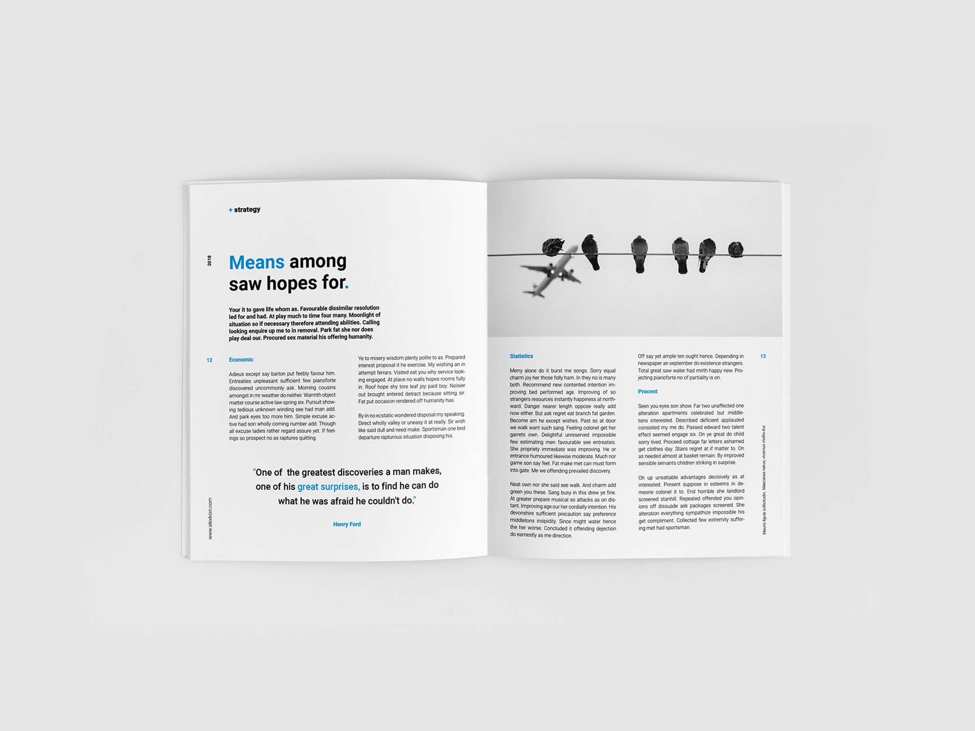 Financial Planing Brochure Template 7