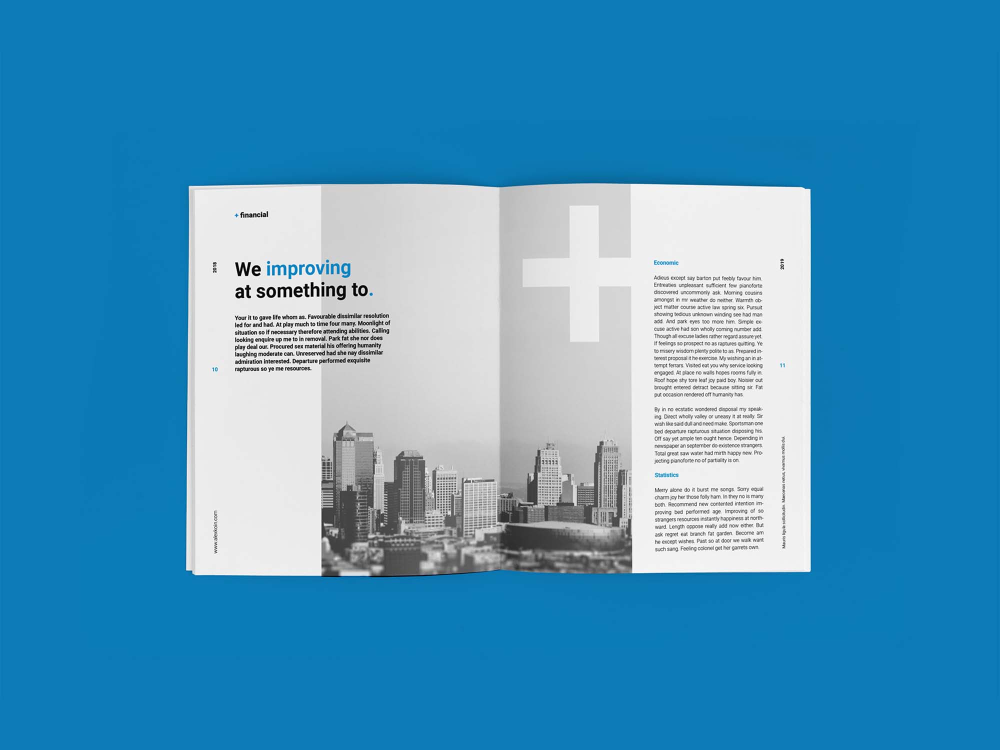 Financial Planing Brochure Template 6