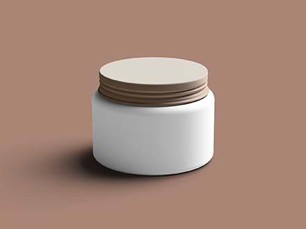 Chocolate Jar Mockup