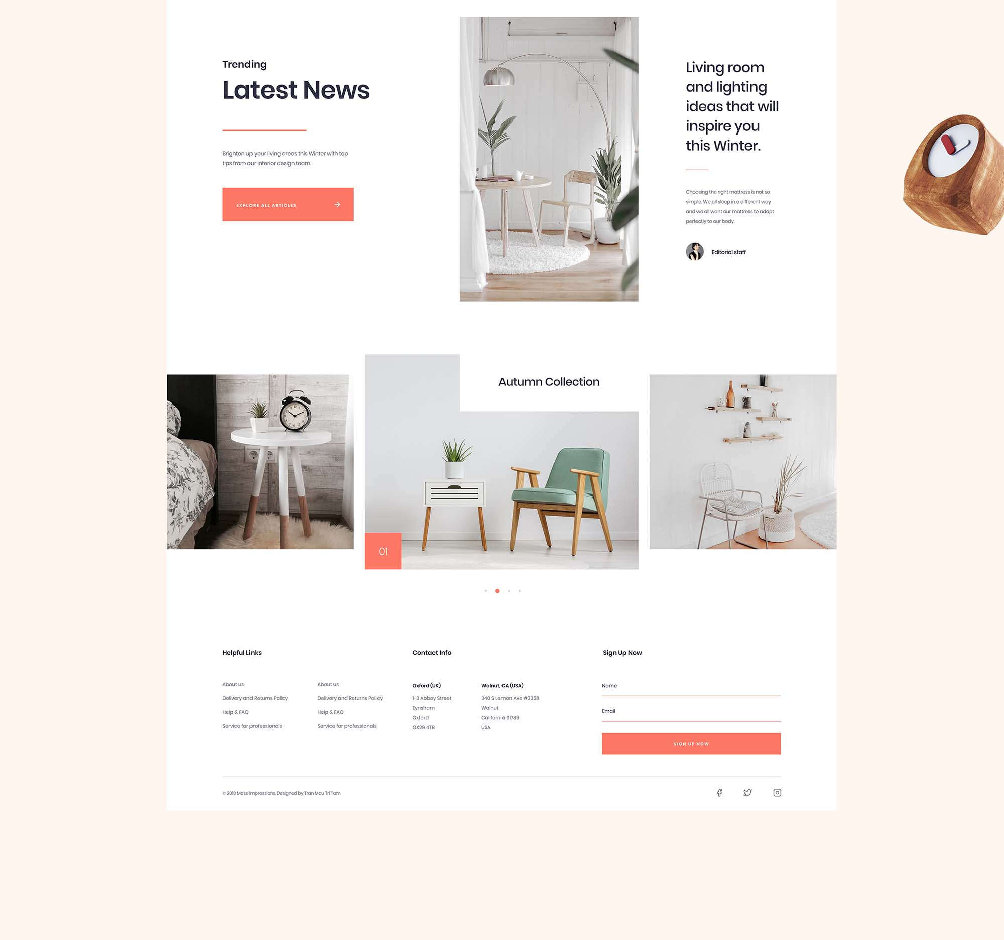 Furniture App Template 10