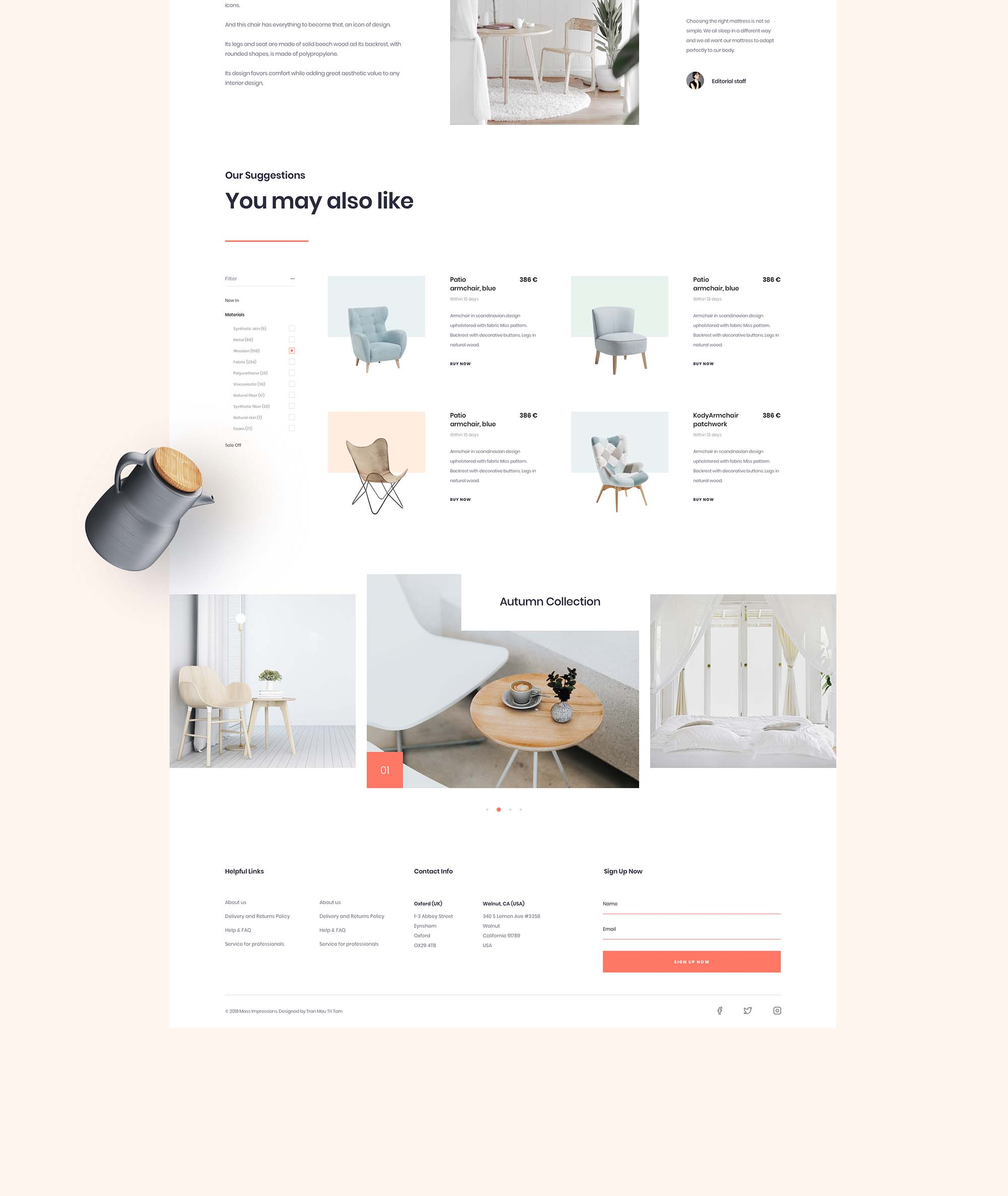 Furniture App Template 13