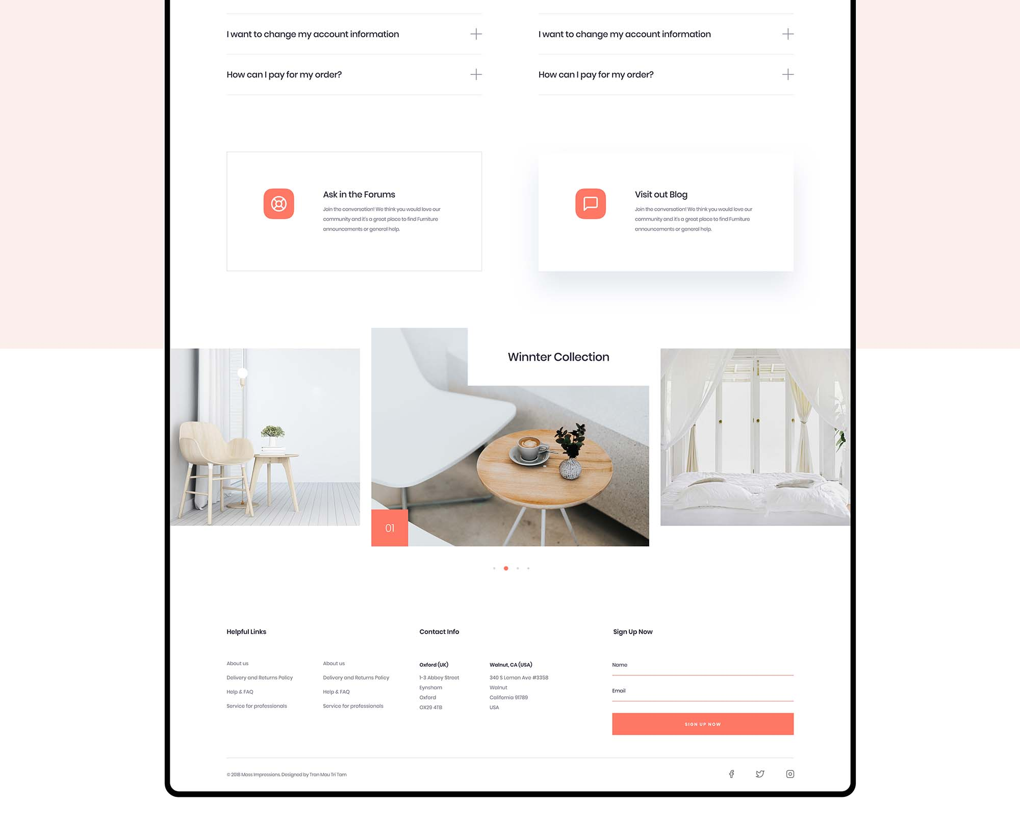 Furniture App Template 2