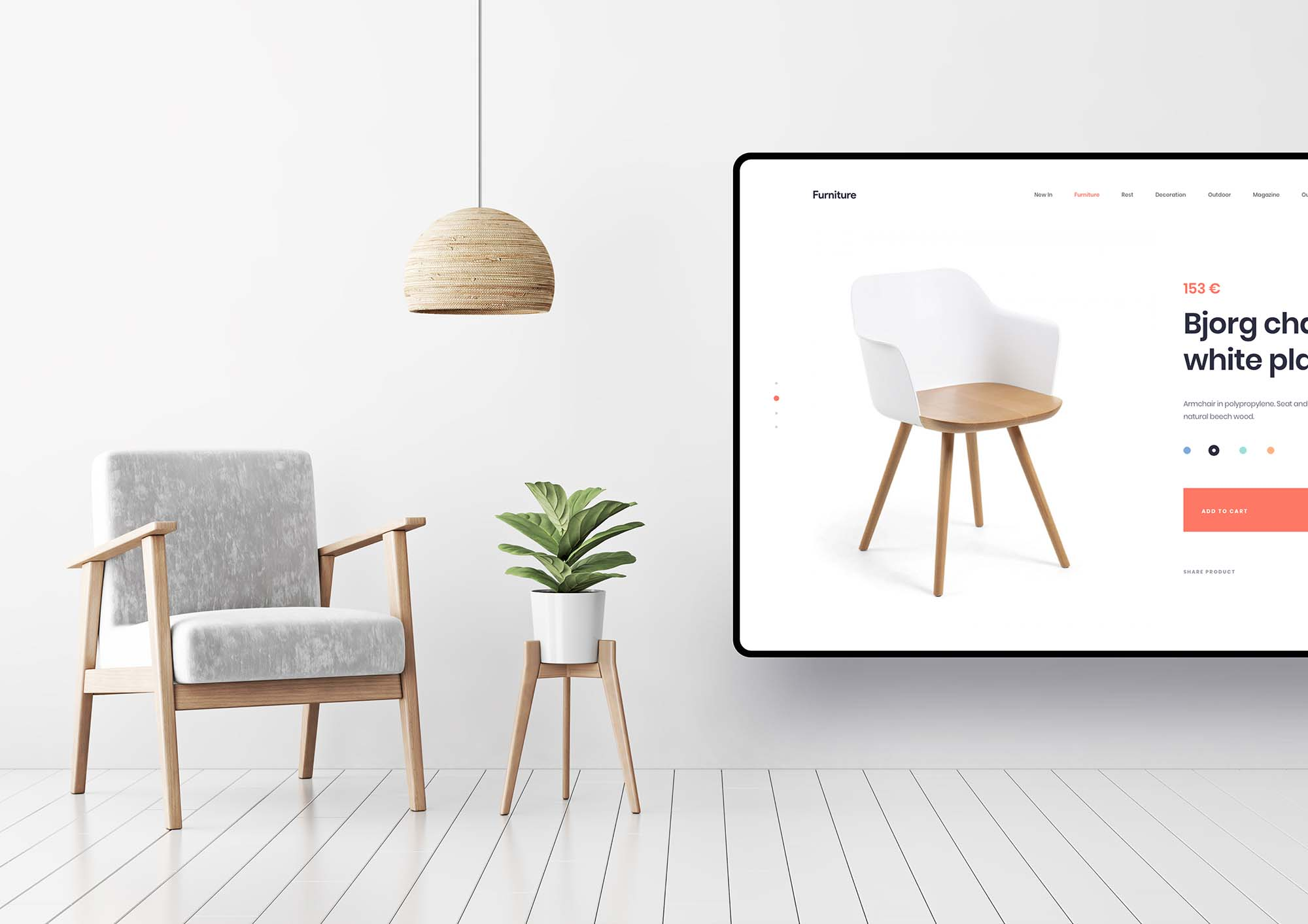 Furniture App Template 4