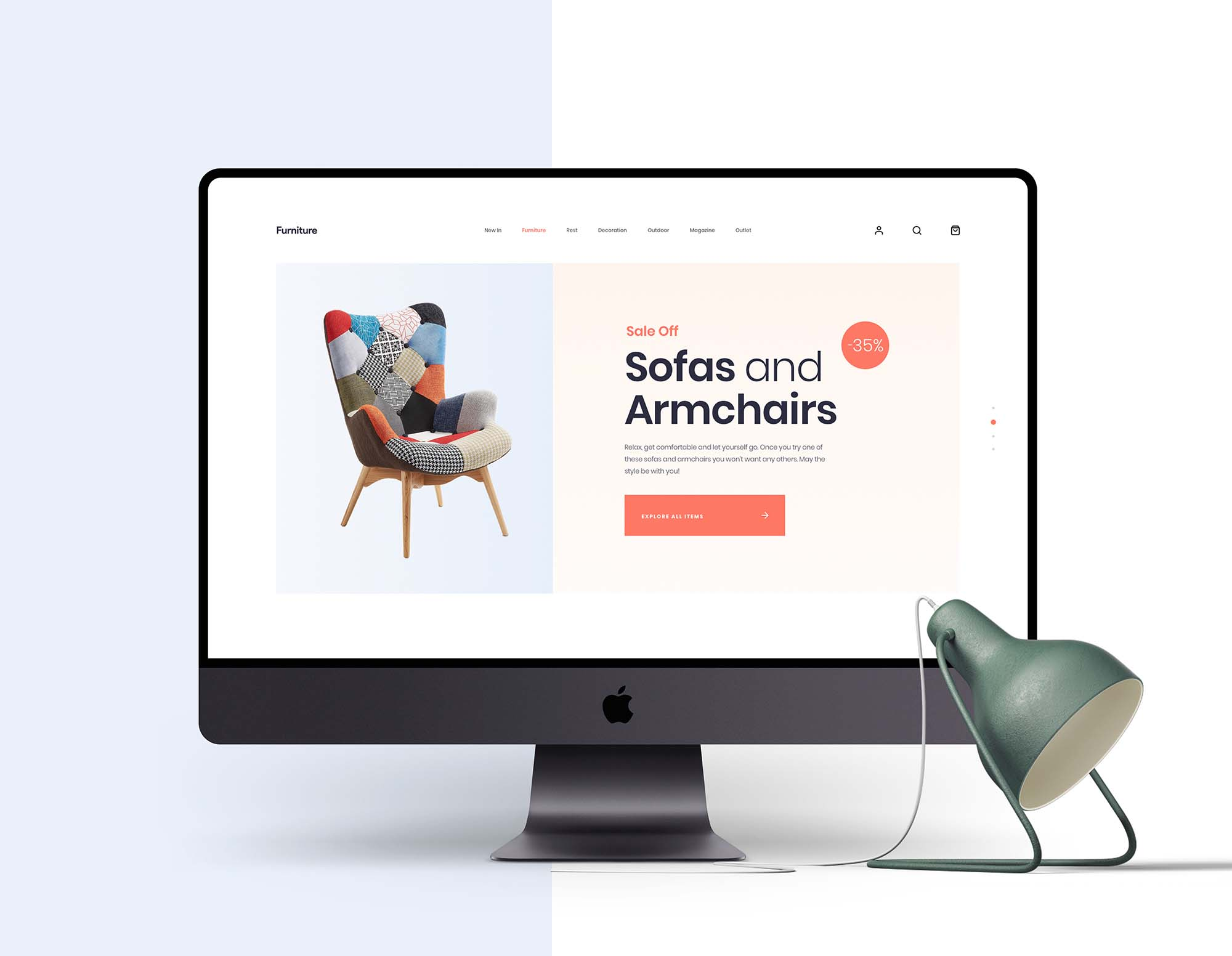 Furniture App Template 5