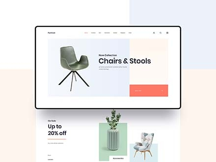 Furniture App Template