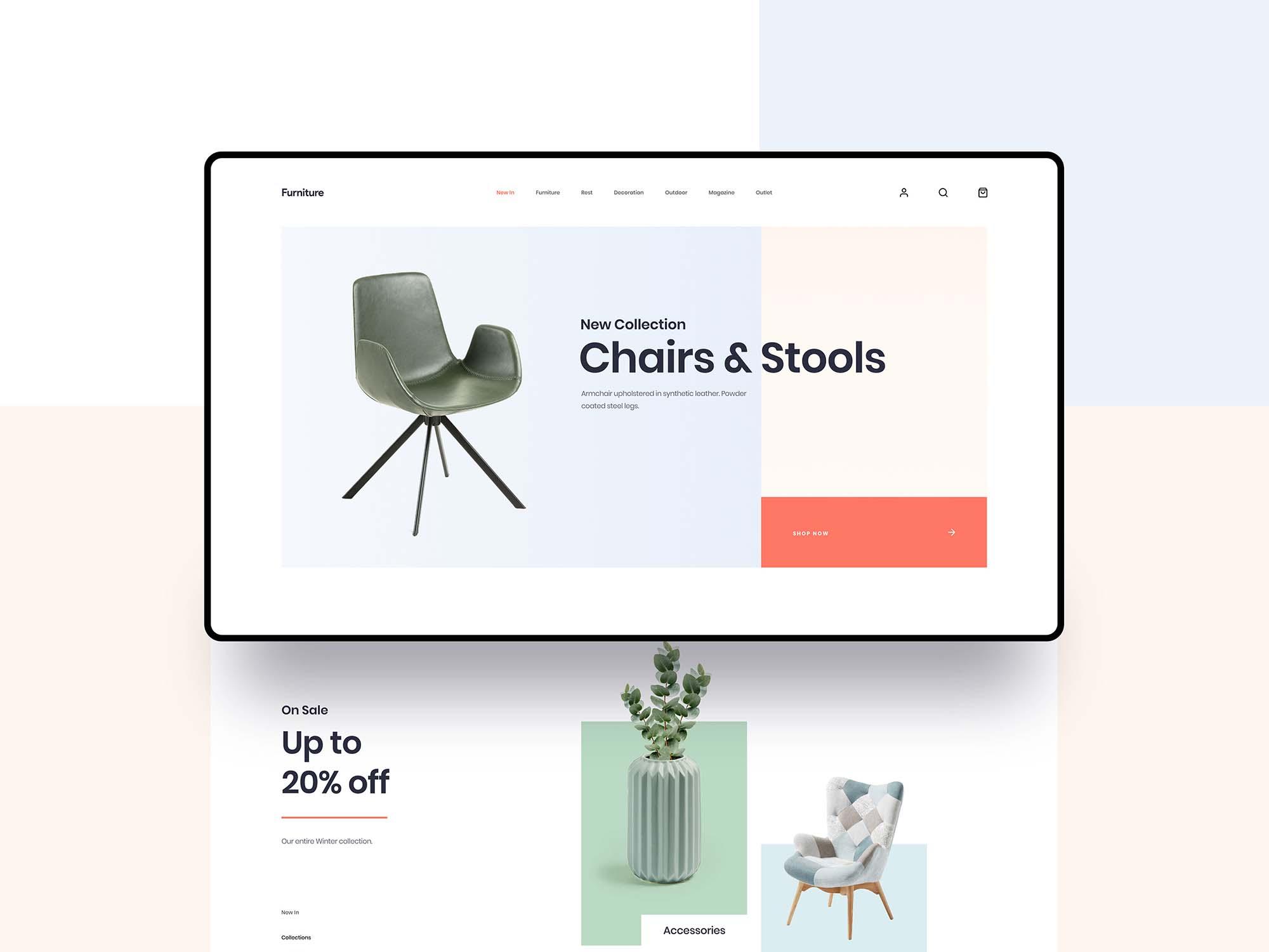 Furniture App Template