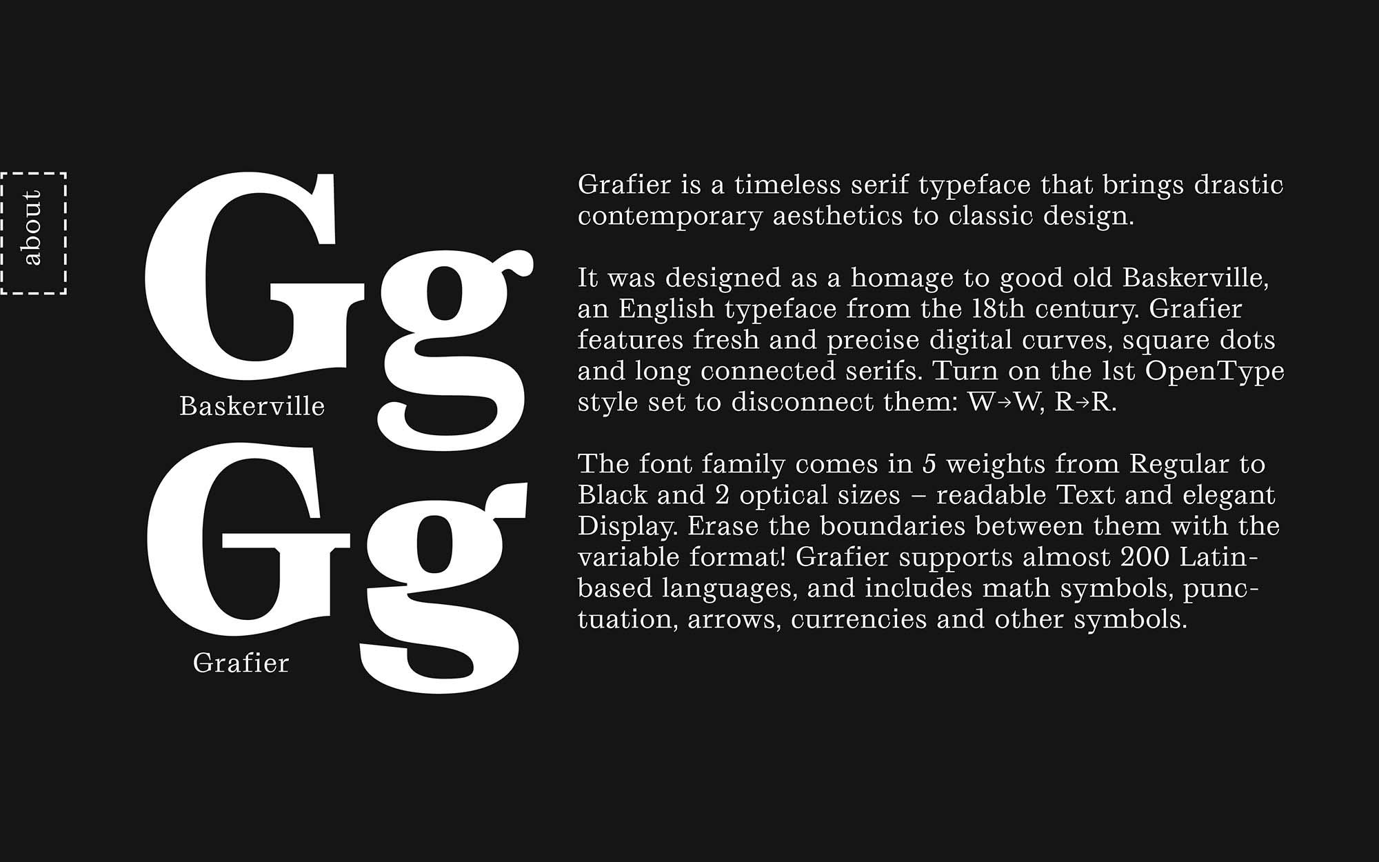 Grafier Serif Font 6