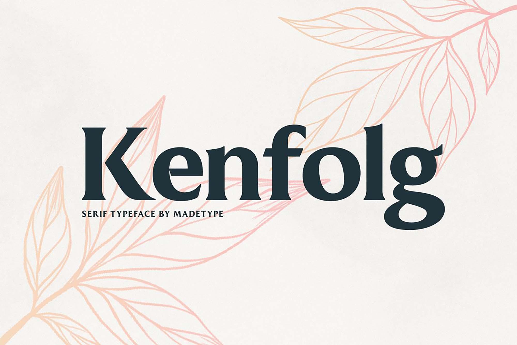 Kenfolg Font
