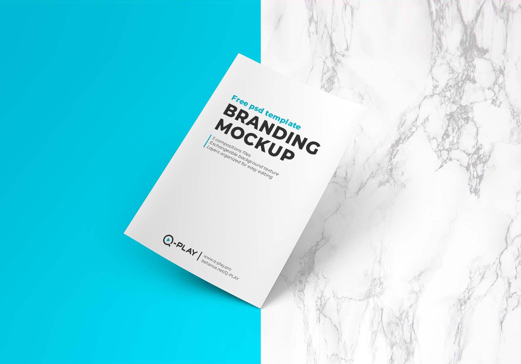 Multipurpose Branding Mockup 2
