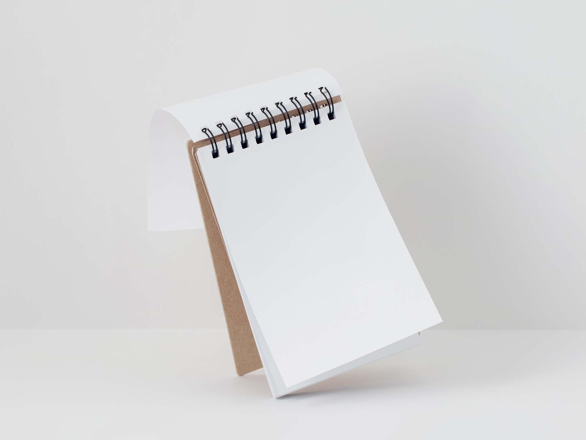 Notepad Mockup 1