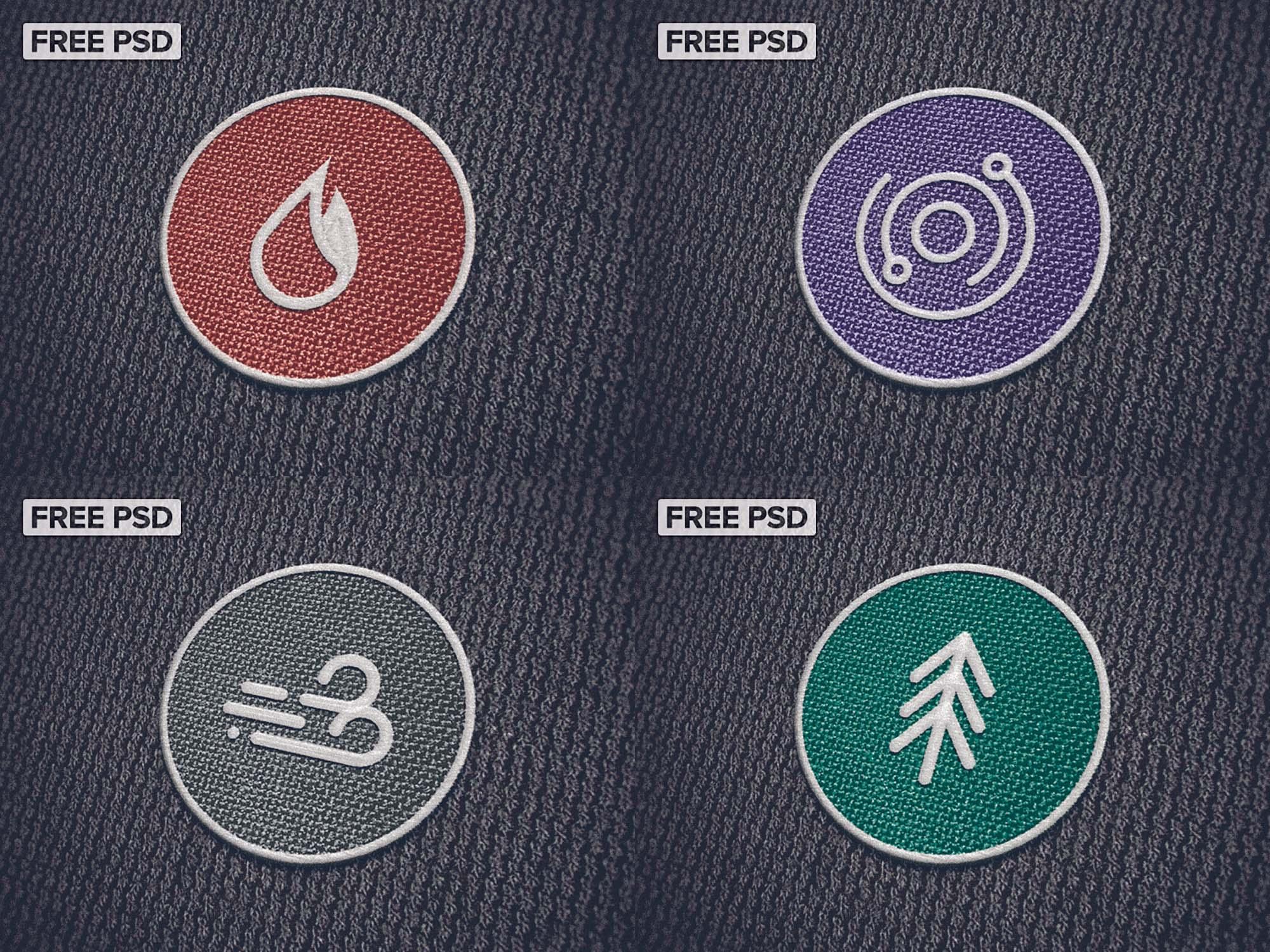 Patch Logo Mockup 1