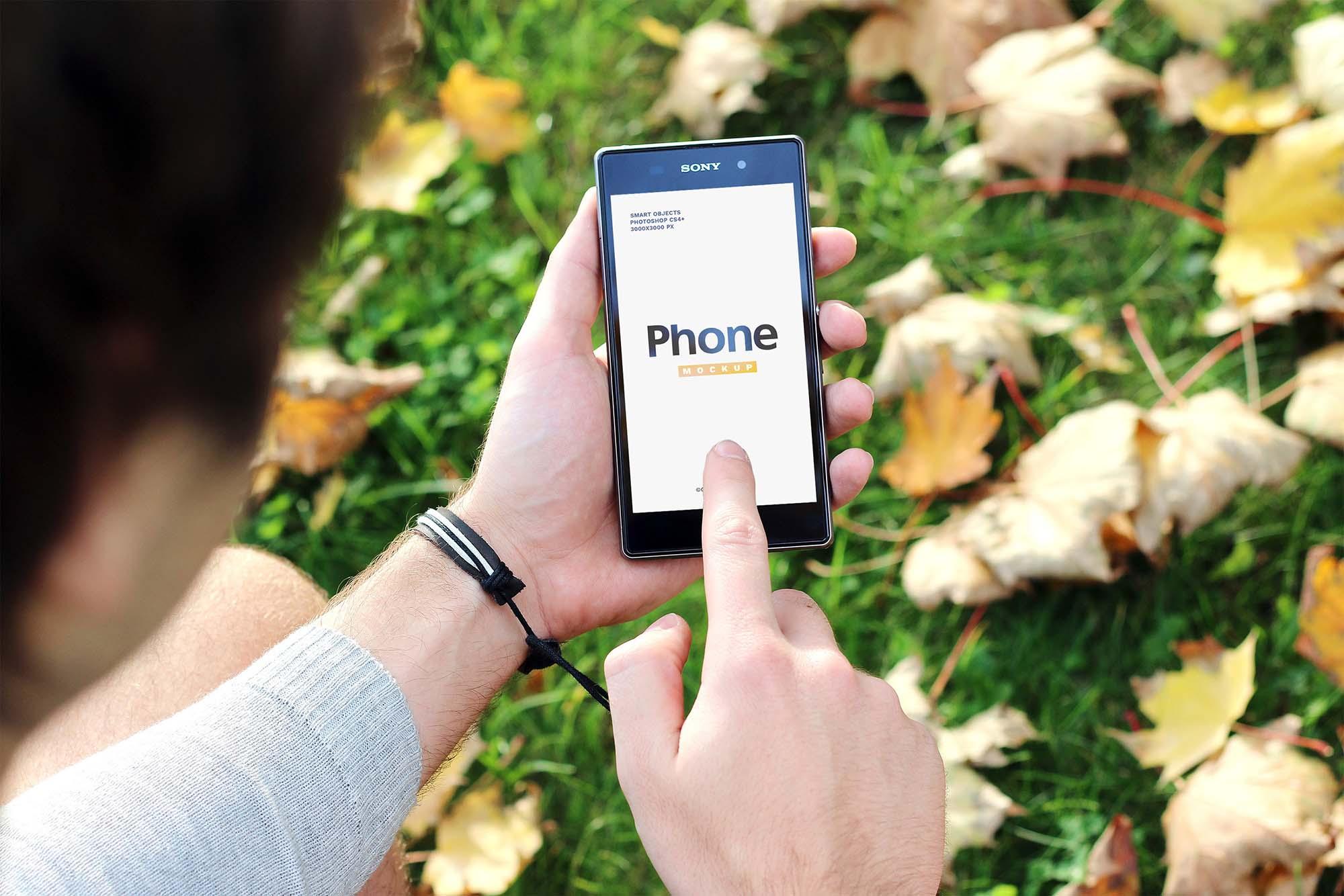 Responsive Device Mockup - Mobile