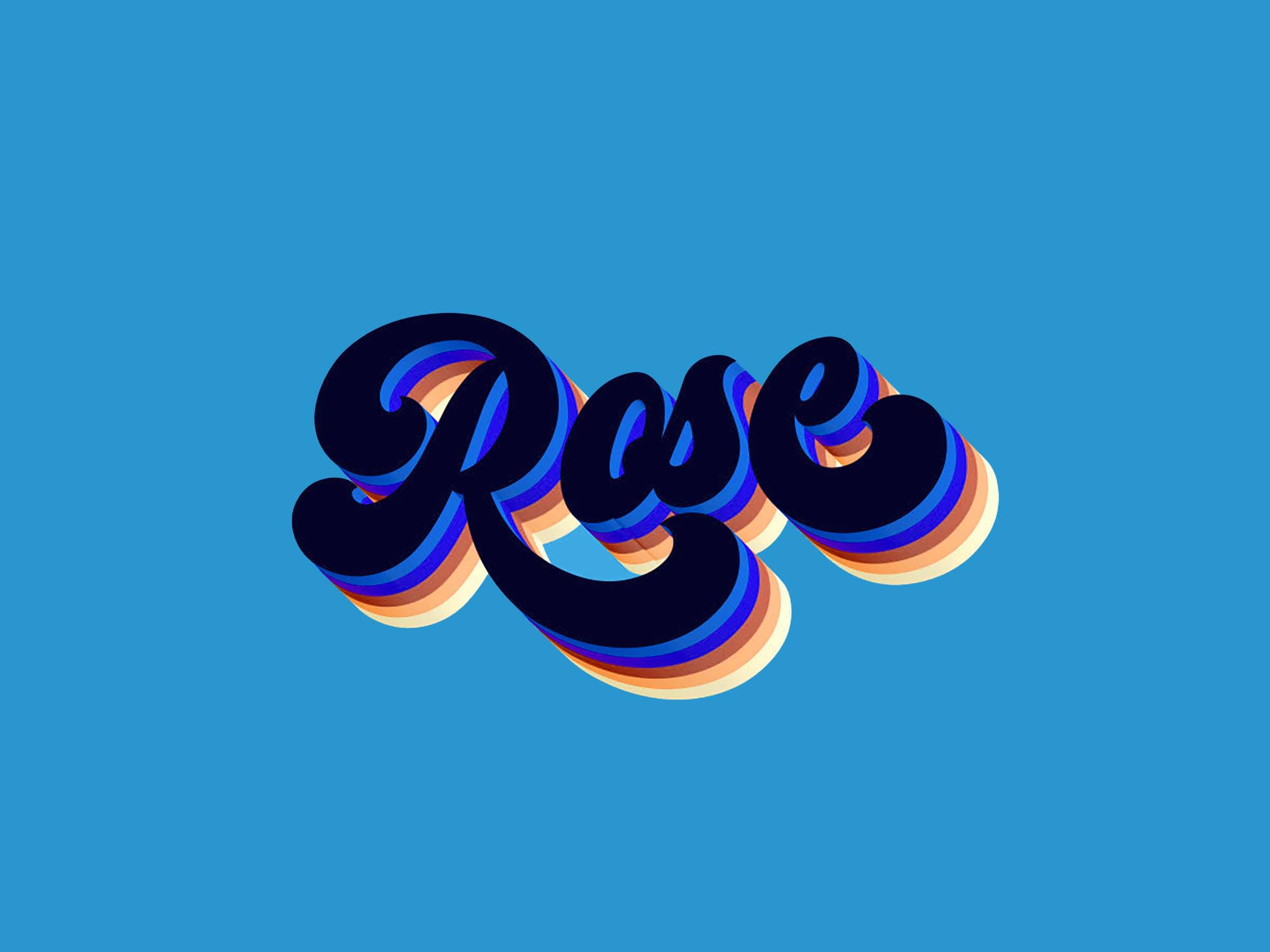 Rose Text Effect 1