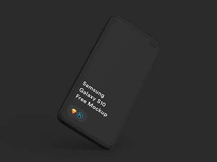 Samsung Galaxy S10+ Mockup