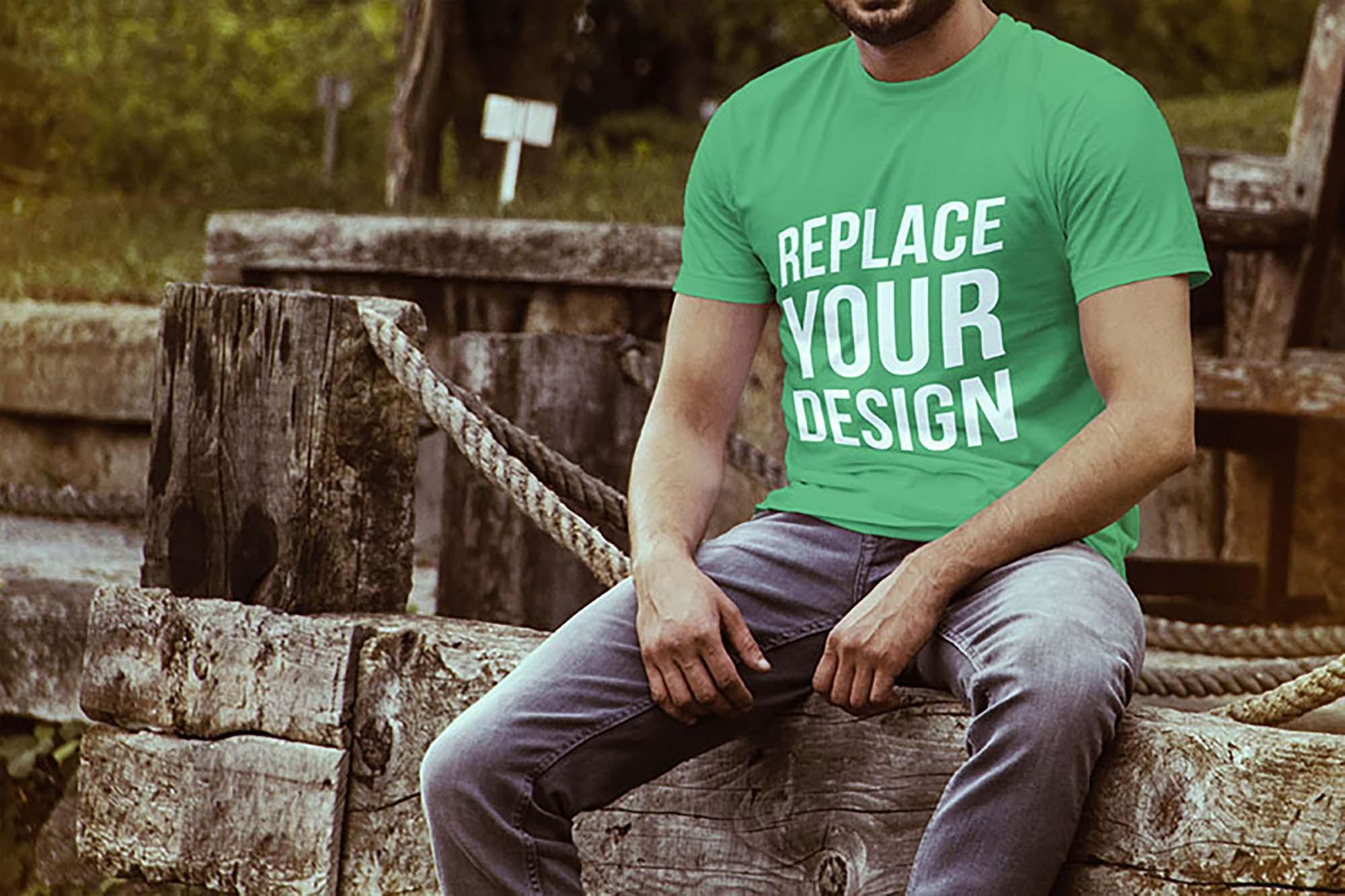 Apparel T-shirt Mockup
