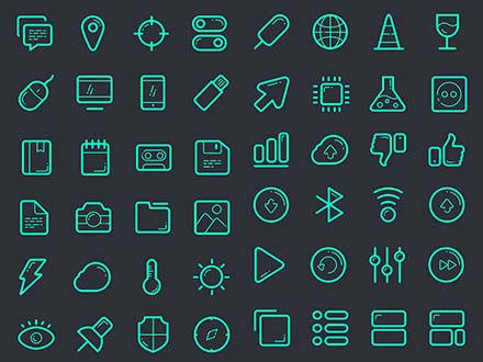 Vector Line Icons