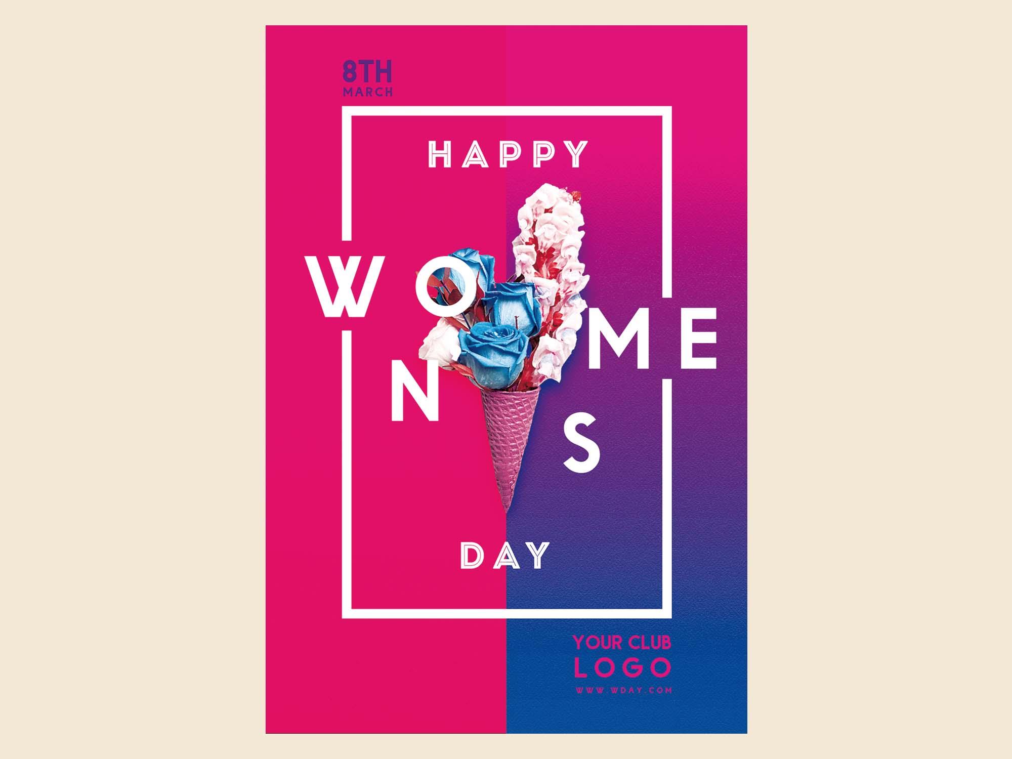 Women Day Flyer Template