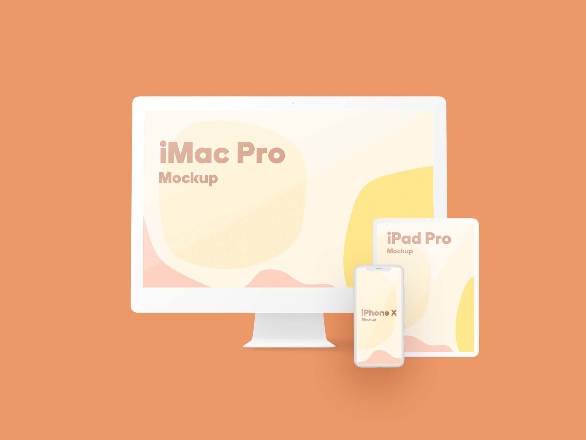 Apple Devices Design Mockup