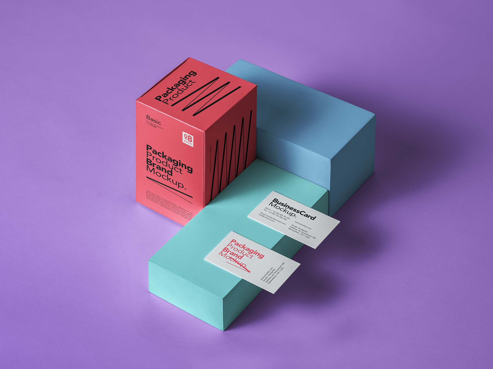 Basic Product Packaging Mockup