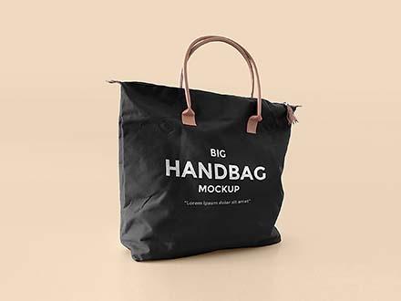 Big Handbag Mockup
