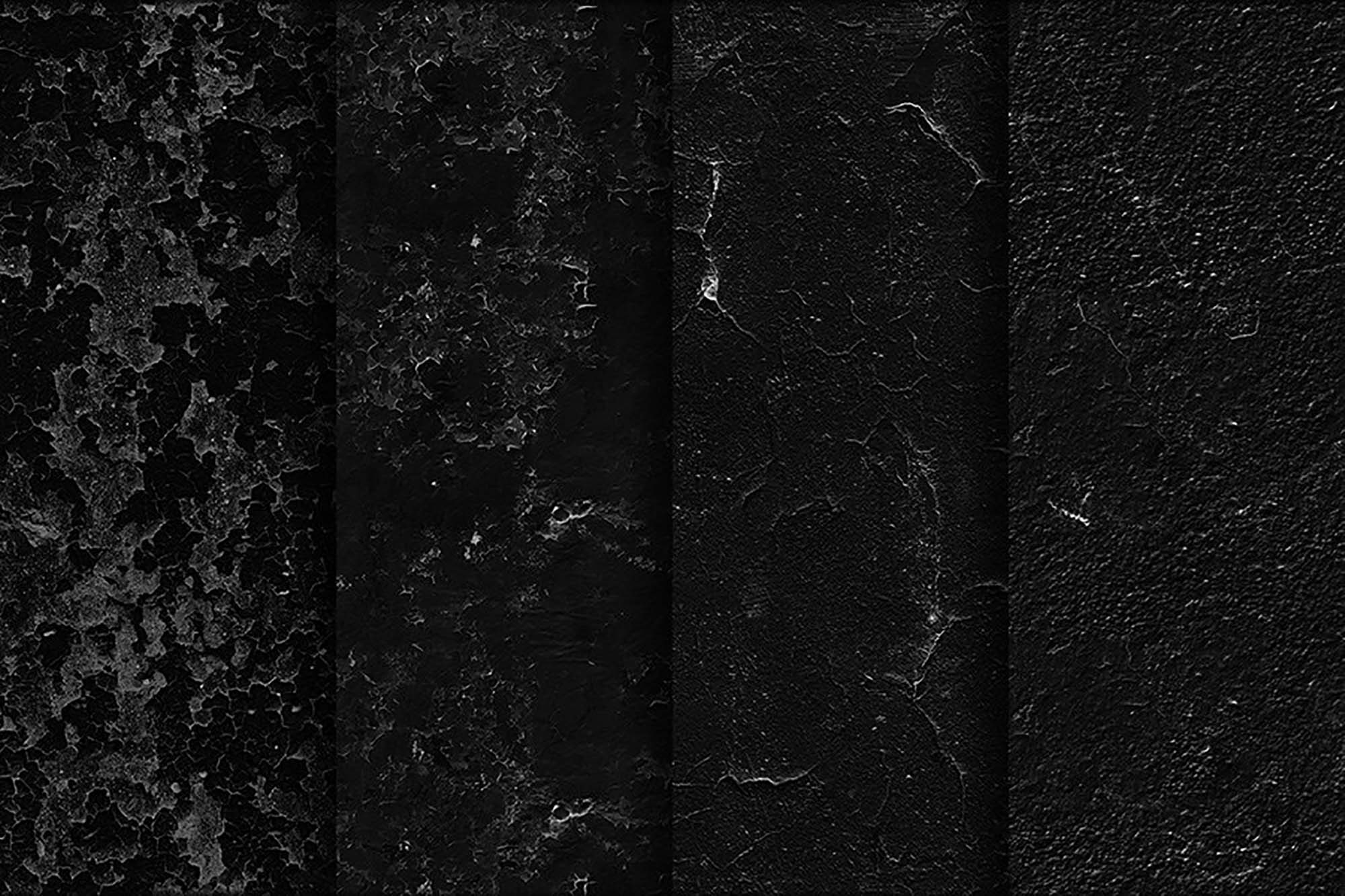 Black Wall Seamless Textures 2